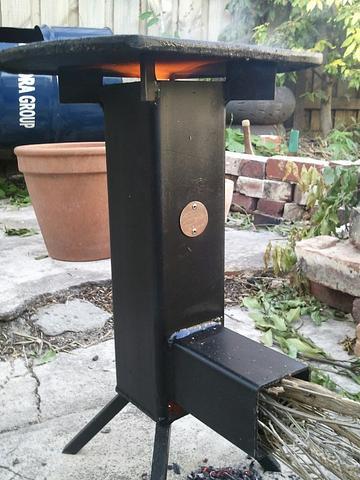 Rocket stove #1