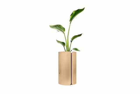 Cloak - Handmade Brass Planter